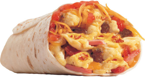 Breakfast Burrito Bar   Confessions of a (Type) A